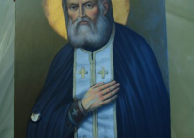 St. Seraphim of Sarov before