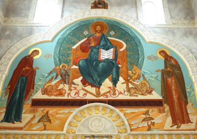 Роспись резиденции Патриарха Московского