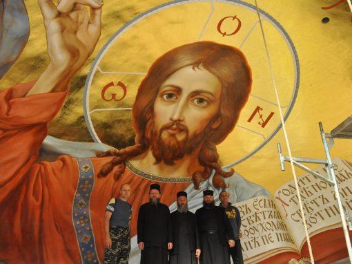 Роспись Свято-Троицкого собора в Вознесенском монастыре